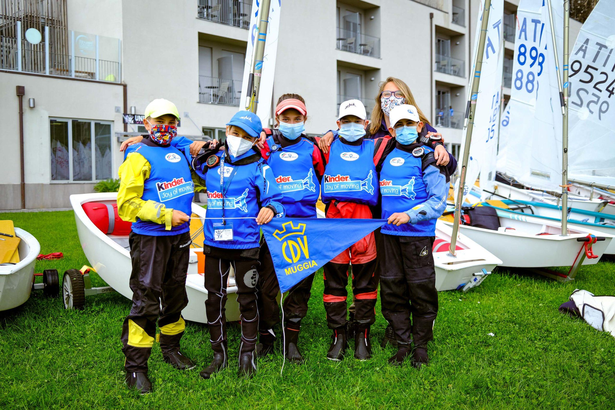 #KinderJoyofMoving - Univela Sailing, SCG Salò